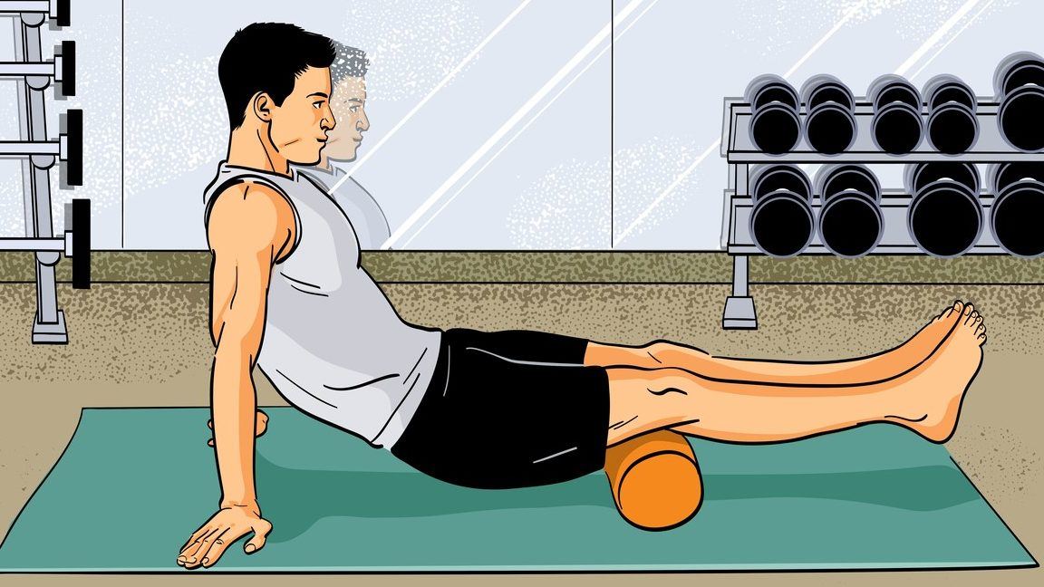 Foam rollers are simply good